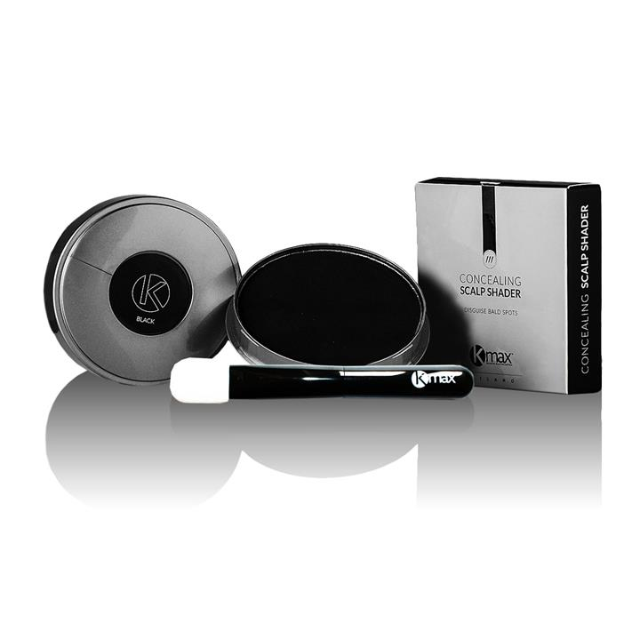Kmax Пудра-стайлинг для редких волос компакт водостойкая и новый спонж-кисточка