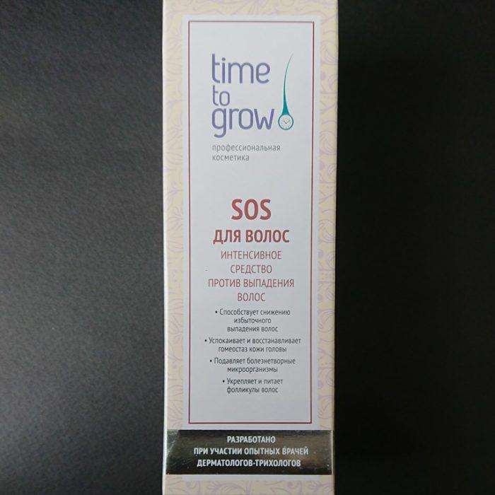 TimeToGrow_SOS лосьон для волос_itshair.ru