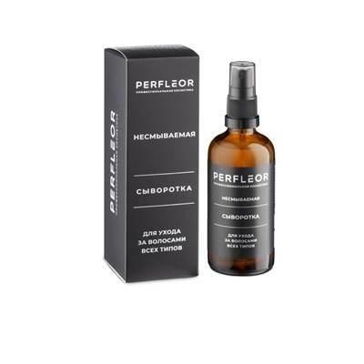 Perfleor Несмываемая сыворотка для ухода за волосами всех типов, 100 мл.